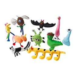 SAGOSKATT soft toy, assorted colors