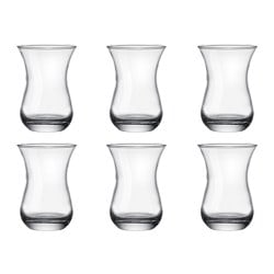 RANSBY tea glass Height: 10 cm Volume: 16 cl Package quantity: 6 pack