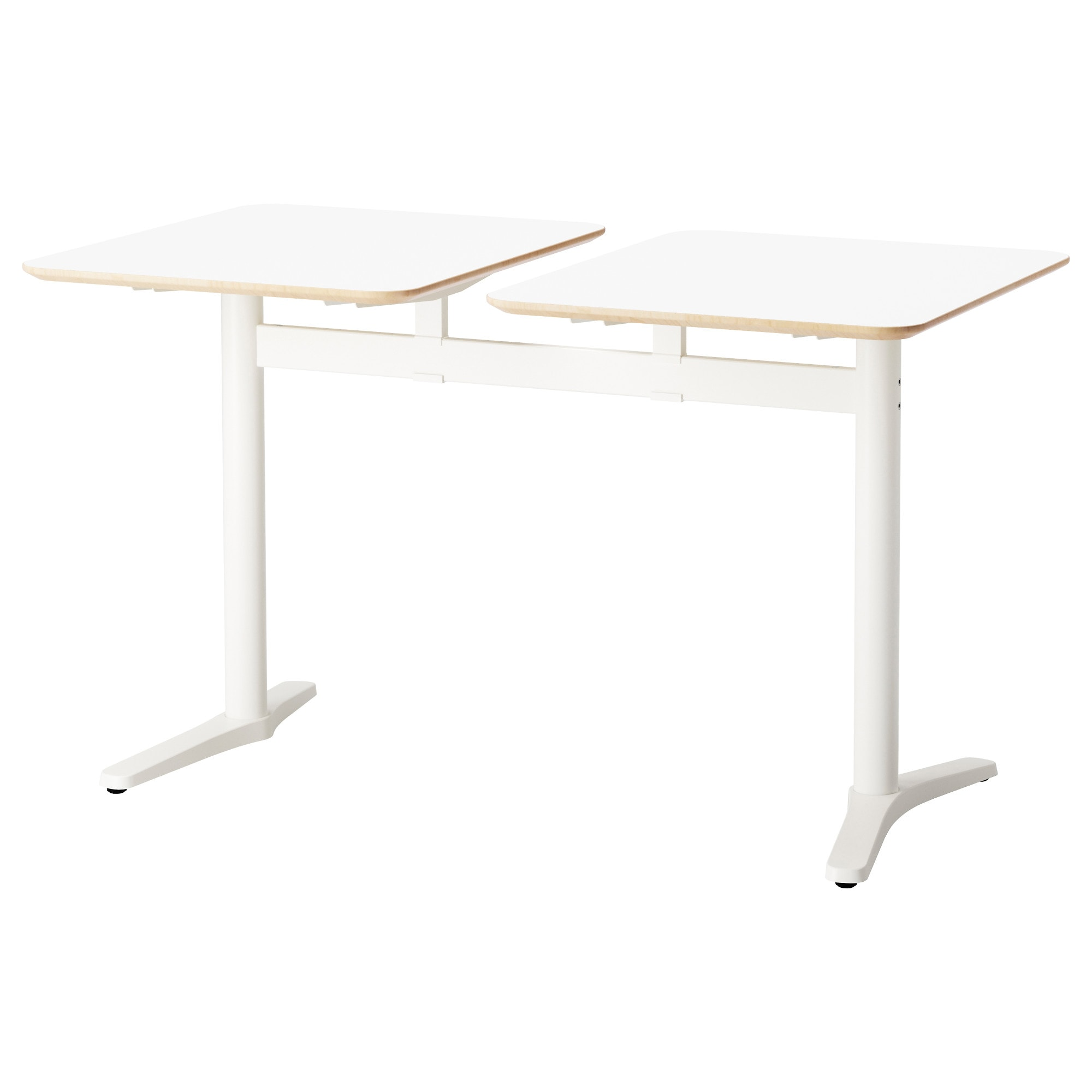 70cm modern cafe chairs and tables view modern cafe chairs and tables - Billsta Table With 2 Tops White White Length 51 1 8