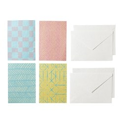 VÄLBALANS card with envelope Width: 13 cm Height: 18 cm Package quantity: 4 pieces