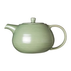 VÄLBALANS teapot, green Height: 13 cm Volume: 1.1 l
