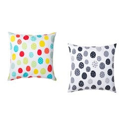 KACKLING cushion cover, assorted colours Length: 50 cm Width: 50 cm