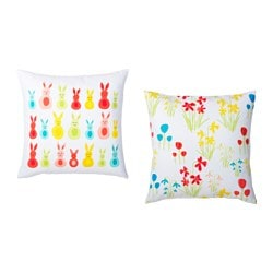 KACKLING cushion cover, assorted designs Length: 50 cm Width: 50 cm