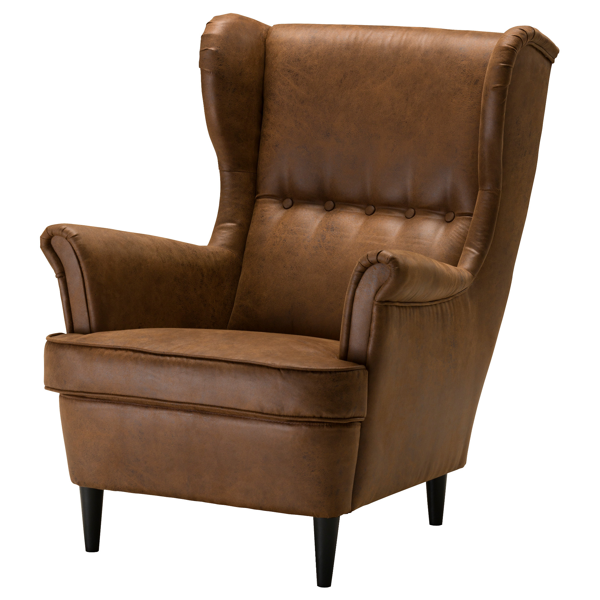 Wing Chair Strandmon Järstad Brown