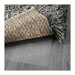 GÅser Rug High Pile Dark Gray