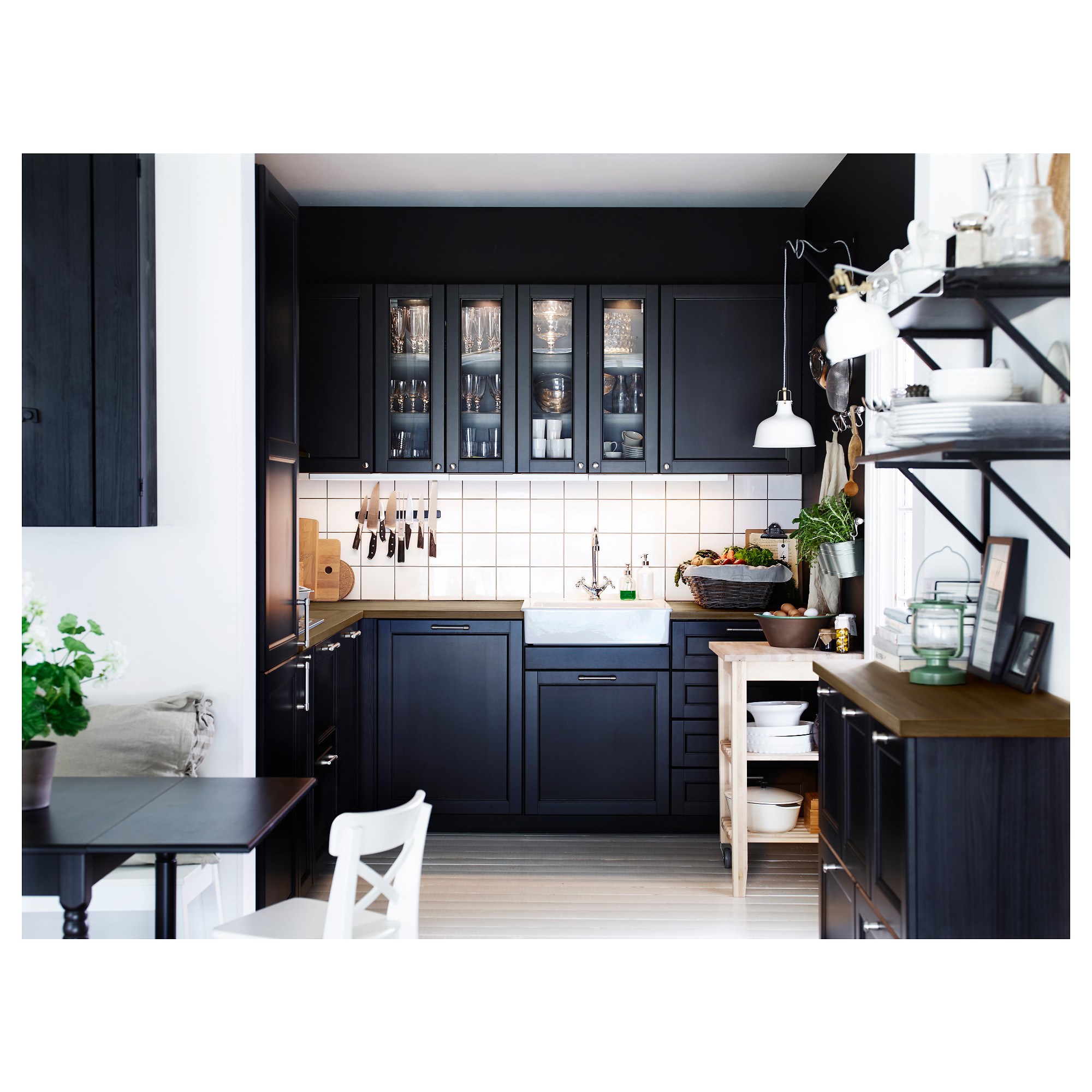 avis cuisine ikea laxarby noir avec des id es int ressantes pour la conception de. Black Bedroom Furniture Sets. Home Design Ideas