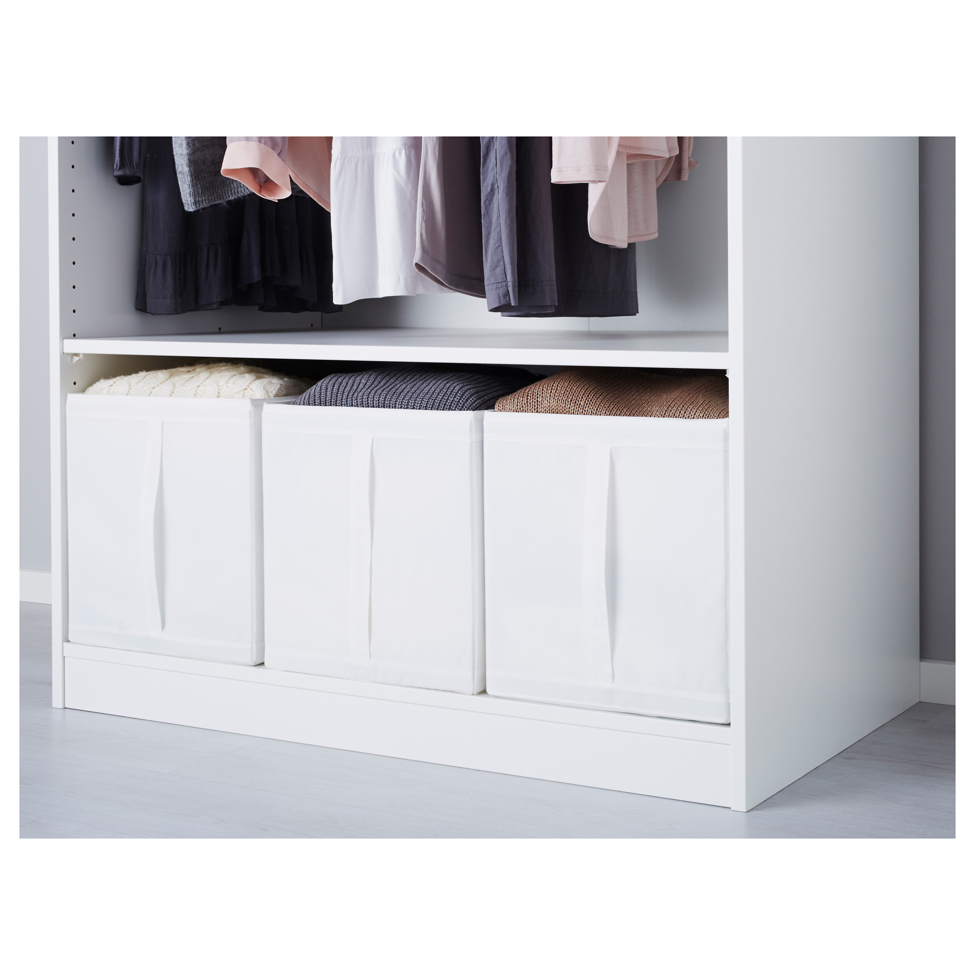 skubb box white ikea
