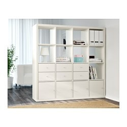 Ikea regal expedit weiß  KALLAX Regal - weiß - IKEA