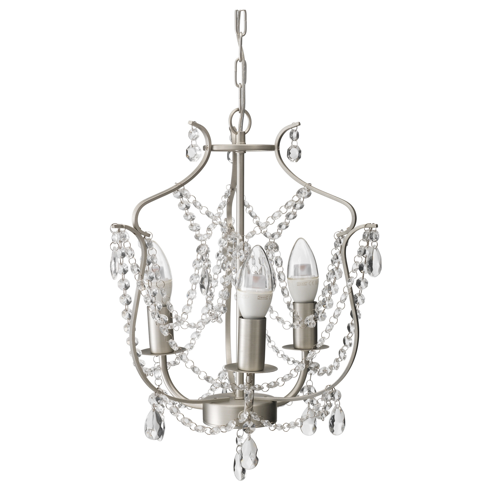Kristaller chandelier 3 armed ikea arubaitofo Choice Image