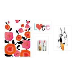 BILD art card, love Package quantity: 4 pieces