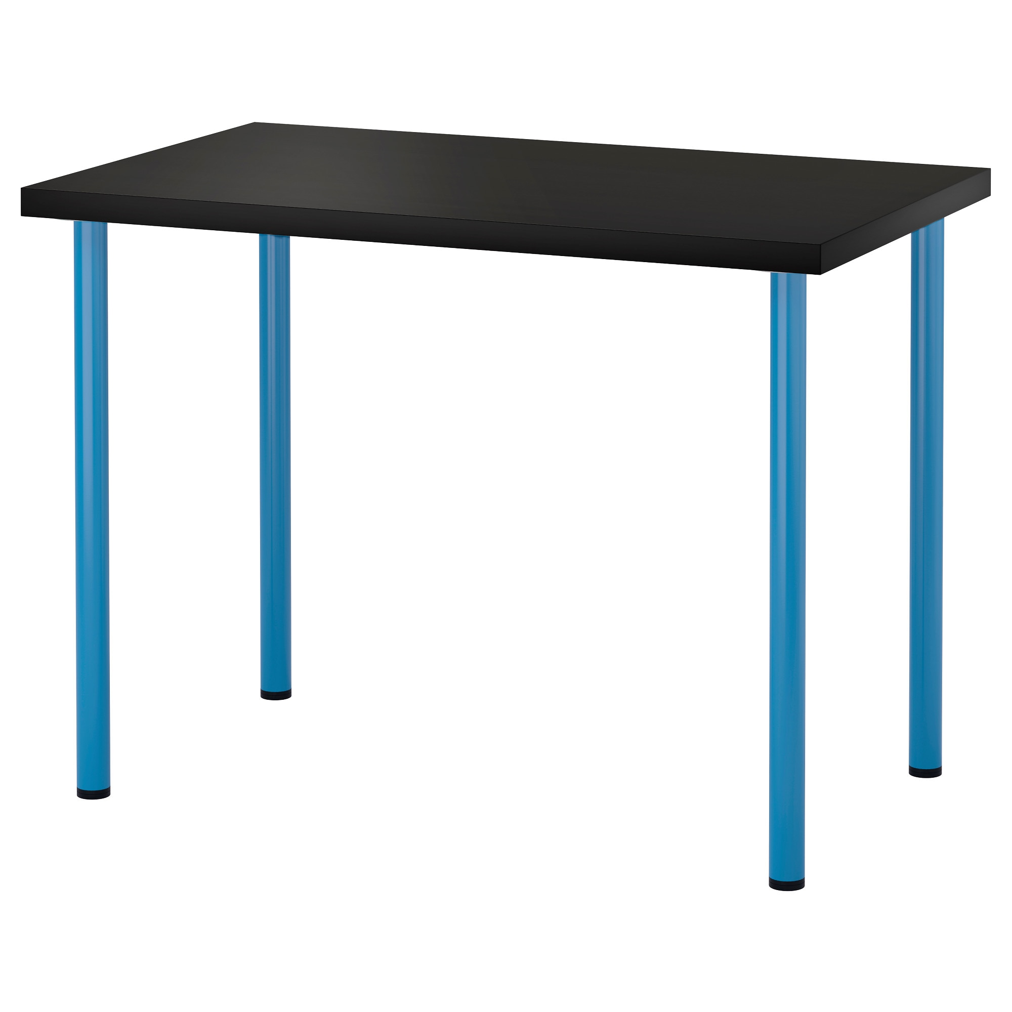LINNMON / ADILS Table   Black Brown/blue   IKEA