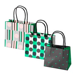 SLÅENDE gift bag, set of 3