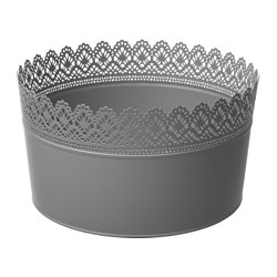 SKURAR bowl, grey Diameter: 25 cm Height: 14 cm