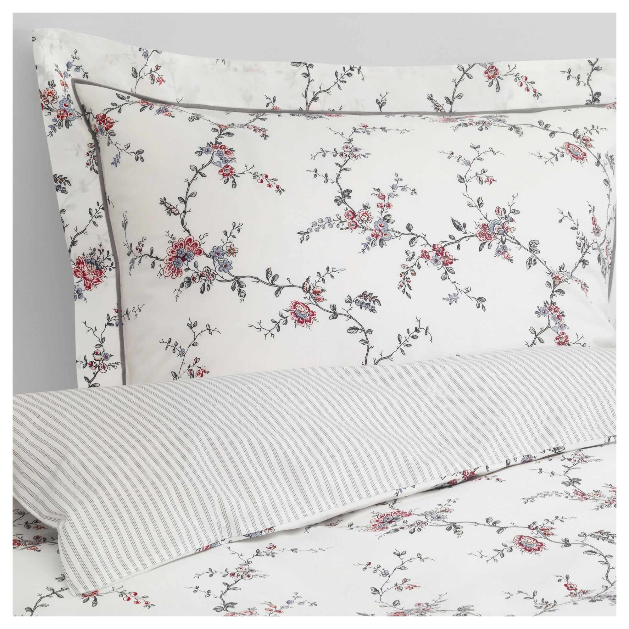 STEN–RT Quilt cover and 2 pillowcases 240x220 50x80 cm IKEA