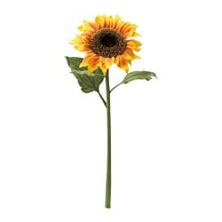 SMYCKA artificial flower, sunflower yellow Height: 60 cm