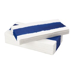 SOMMAR 2016 paper napkin, blue, white Length: 38 cm Width: 38 cm Package quantity: 30 pack