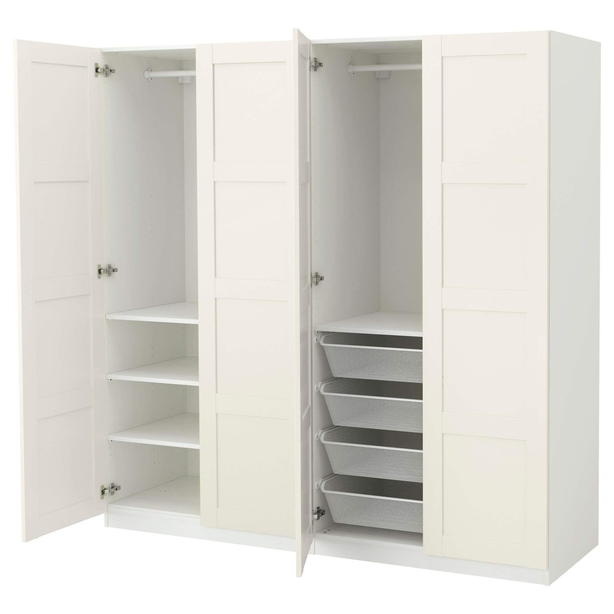 pin pinterest dressing pax wardrobe ikea room