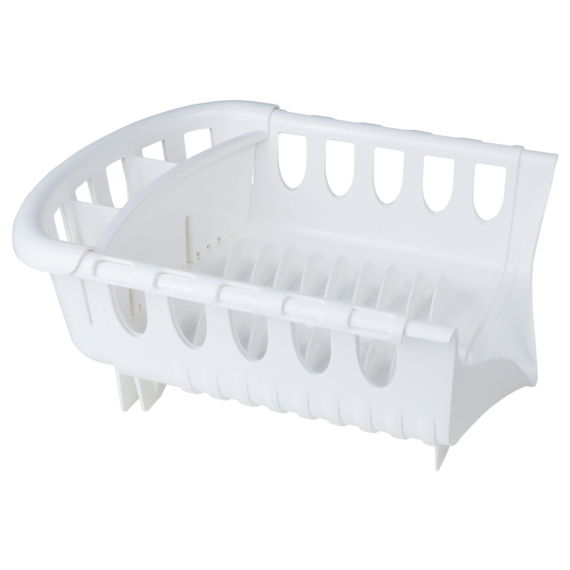 Frossare Dish Drainer, White Min Length: 16