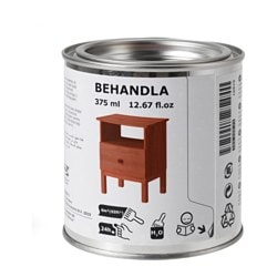 BEHANDLA, Glazing paint, red-brown