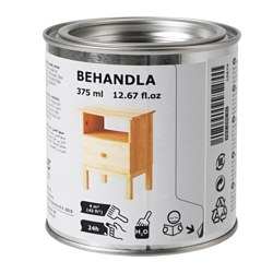 BEHANDLA beeswax polish, colourless Volume: 375 ml