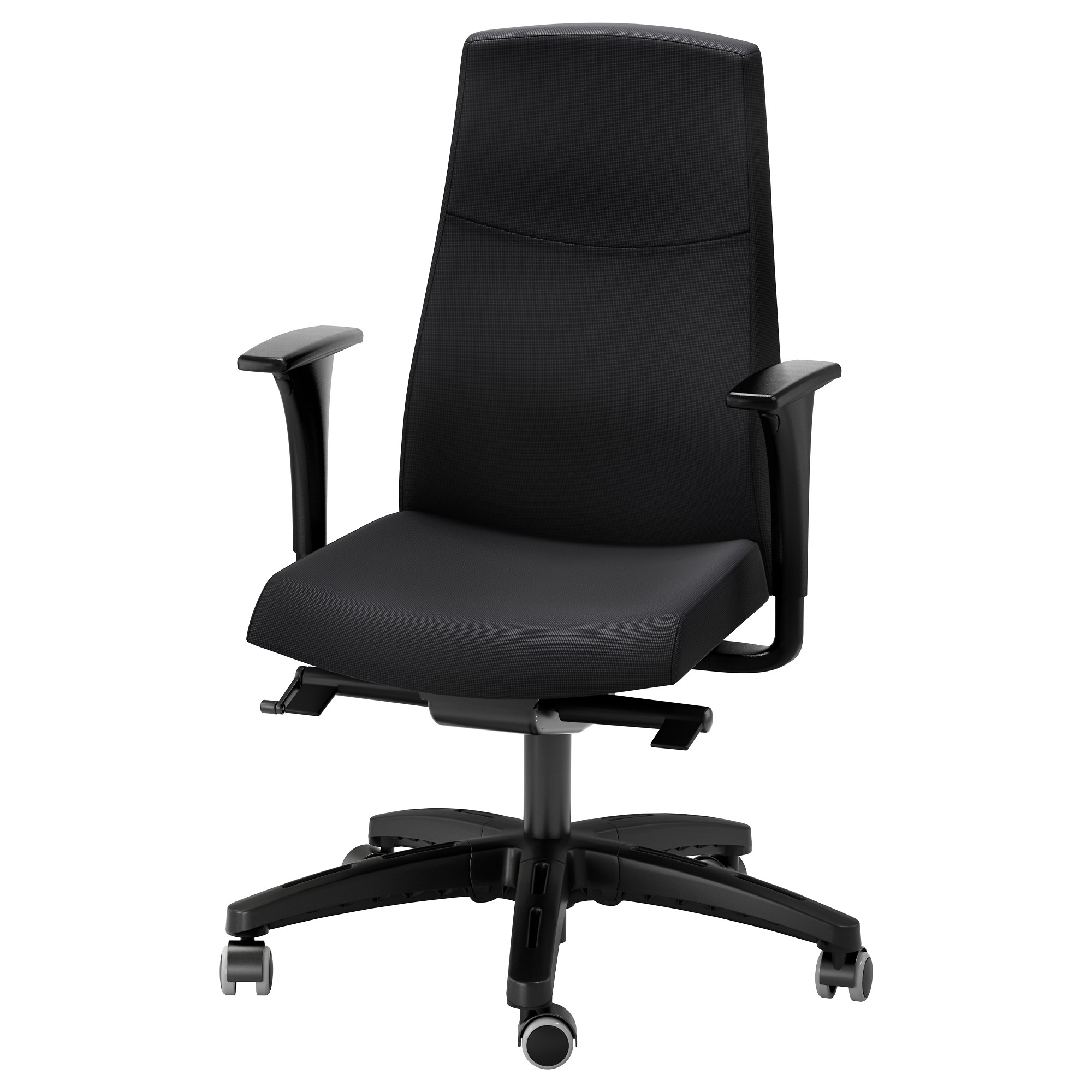VOLMAR swivel chair with armrests black Tested for 242 lb 8 oz Width  sc 1 st  Ikea & Swivel Chairs - IKEA islam-shia.org