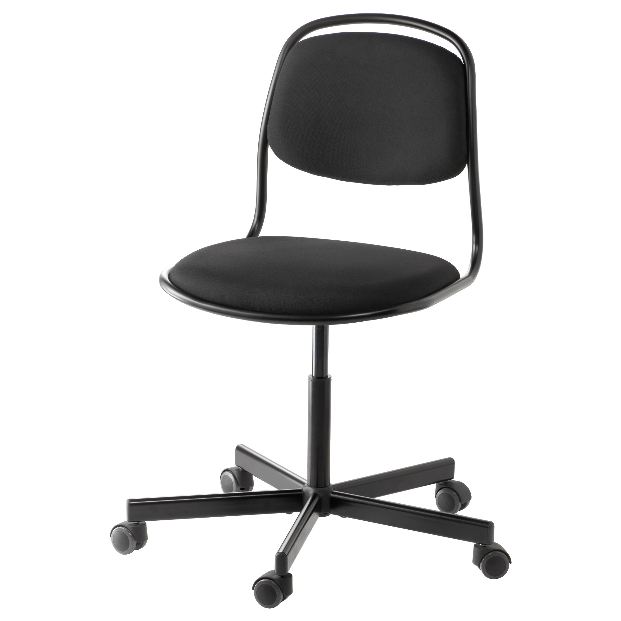 Black and white office chair -  Rfj Ll Sporren Swivel Chair Black Tested For 243 Lb Width 25 5