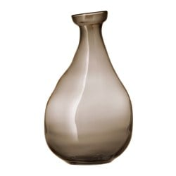 VÅRVIND vase, brown Height: 40 cm