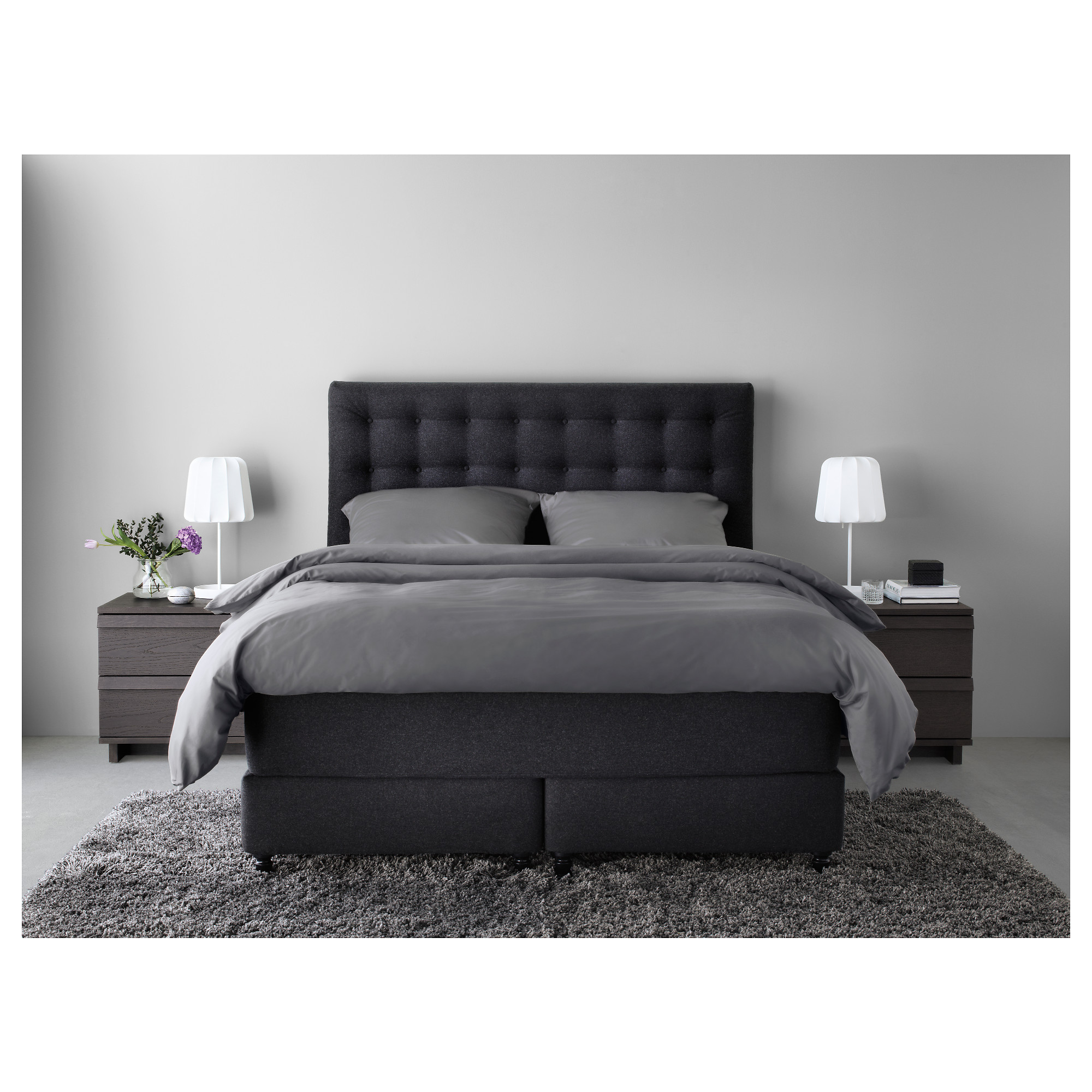 boxspringbett ikea 180x200 swalif. Black Bedroom Furniture Sets. Home Design Ideas