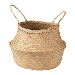 Wicker storage baskets ikea - Diametre panier basket ...