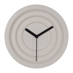 "NYLLE wall clock, white Diameter: 11 ¾ "" Diameter: 30 cm"