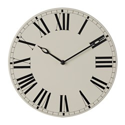 BLONDIS wall clock, steel beige Diameter: 30 cm