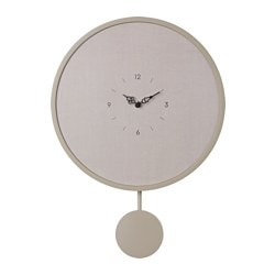 FRULLE wall clock, grey Diameter: 35.0 cm Height: 50 cm