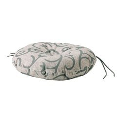 STEGÖN chair cushion, outdoor, beige