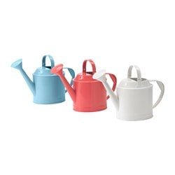 SOCKER watering can, assorted colours, in/outdoor Height: 29 cm Volume: 5 l