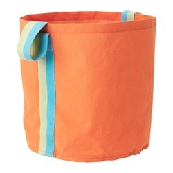 "SLÄKTING storage bag, orange Height: 17 "" Diameter: 16 "" Height: 43 cm Diameter: 41 cm"