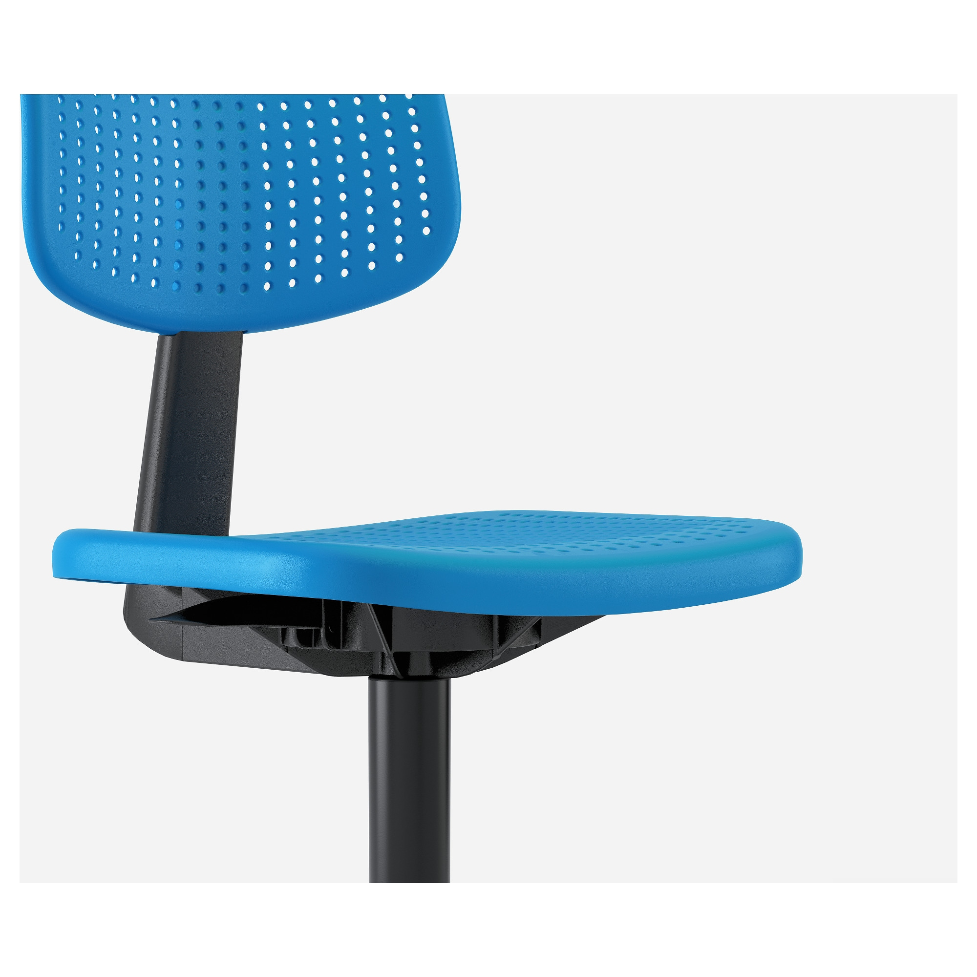 ALRIK Swivel chair - blue - IKEA