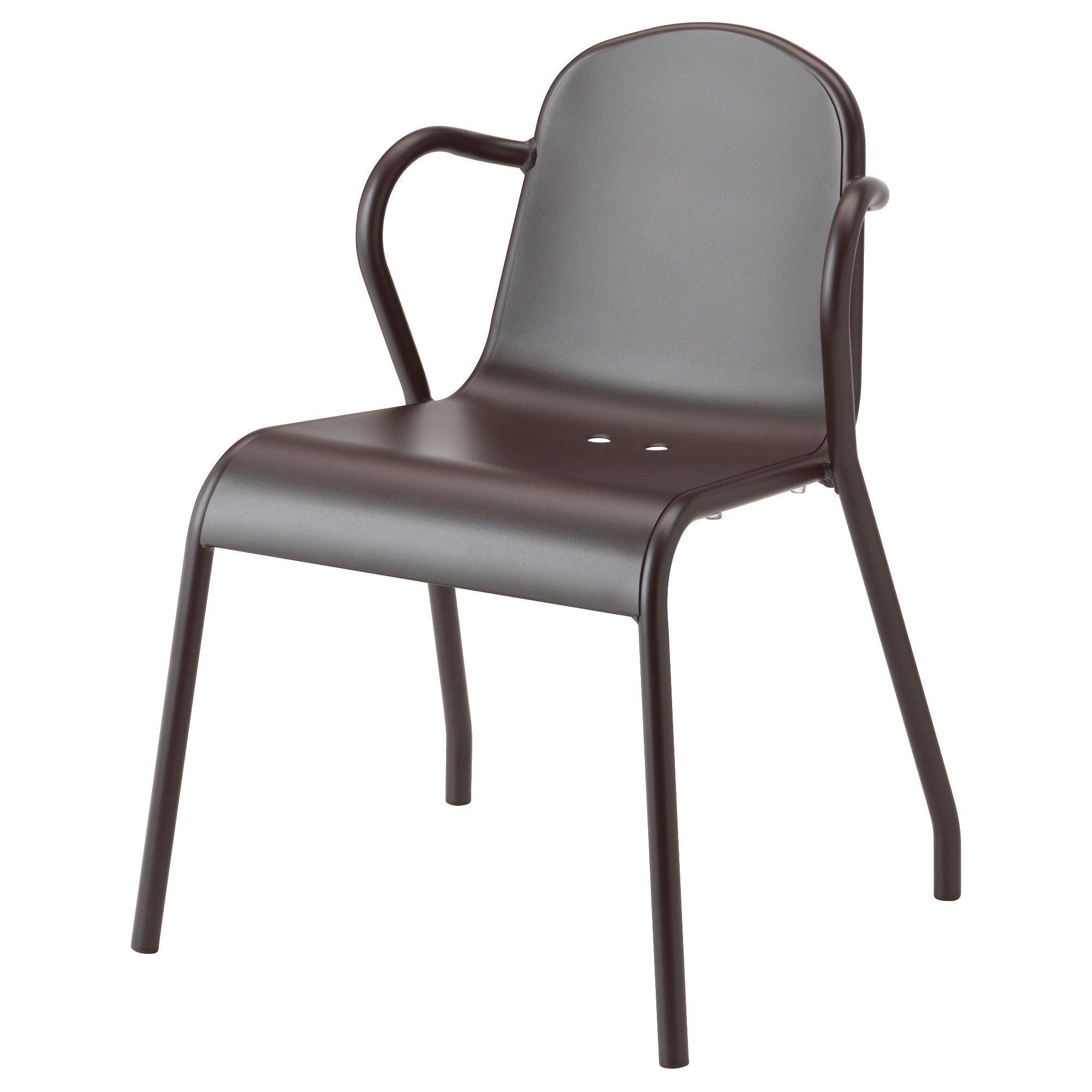 TUNHOLMEN Chair, Outdoor   Dark Brown   IKEA