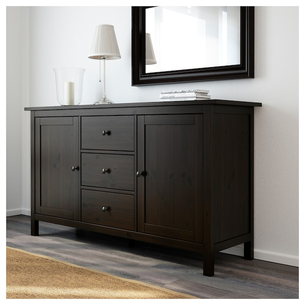 Hemnes Sideboard Black Brown Ikea