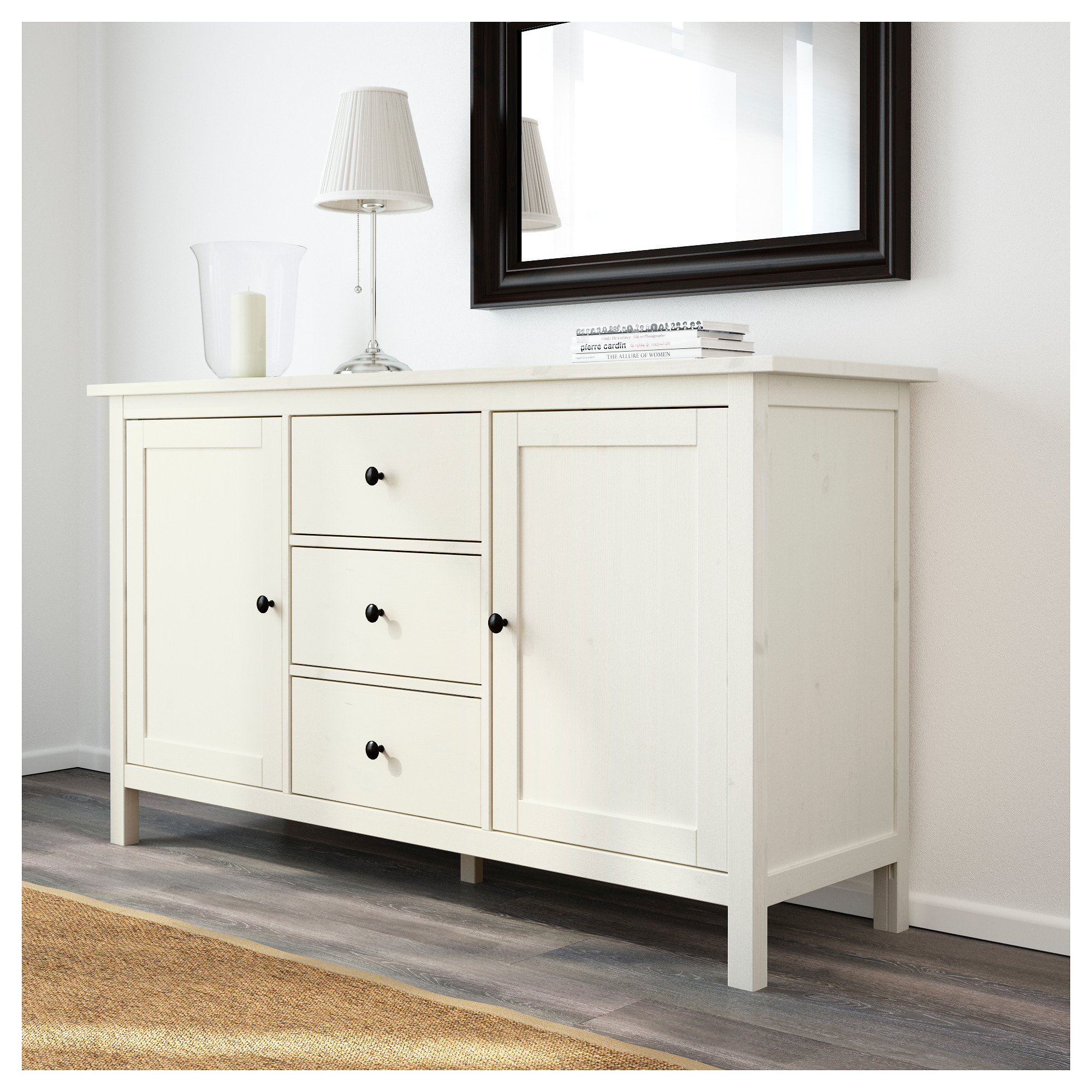 hemnes sideboard - light brown - ikea