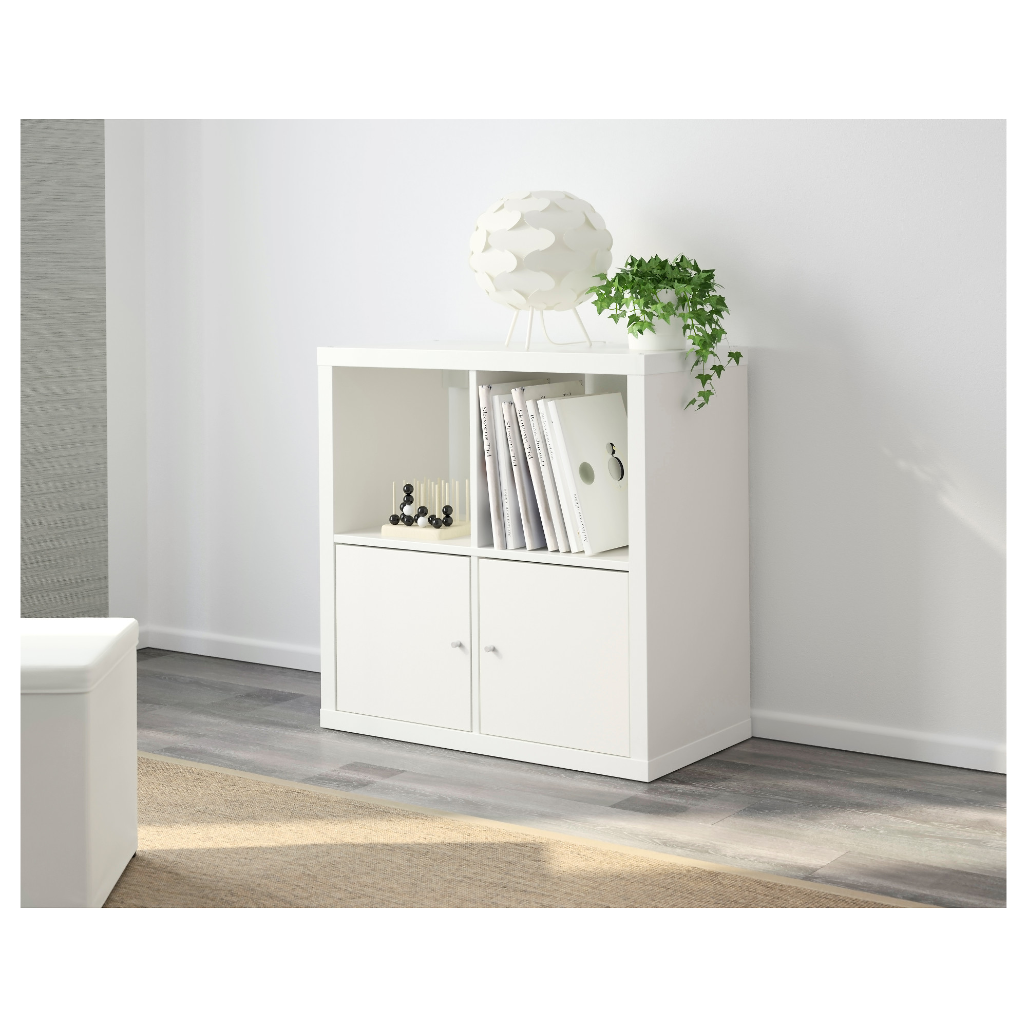 Ikea regal kallax 1x4  KALLAX Shelf unit - white - IKEA