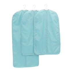 SKUBB clothes cover, set of 3, light blue