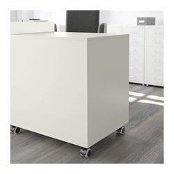 ALEX Drawer Unit On Casters, White