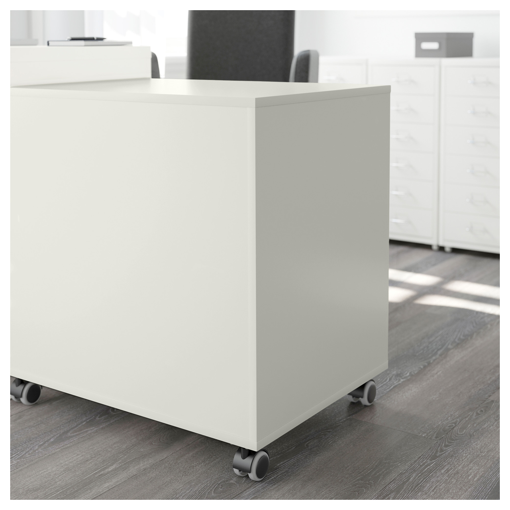 ALEX Drawer Unit On Casters   White   IKEA