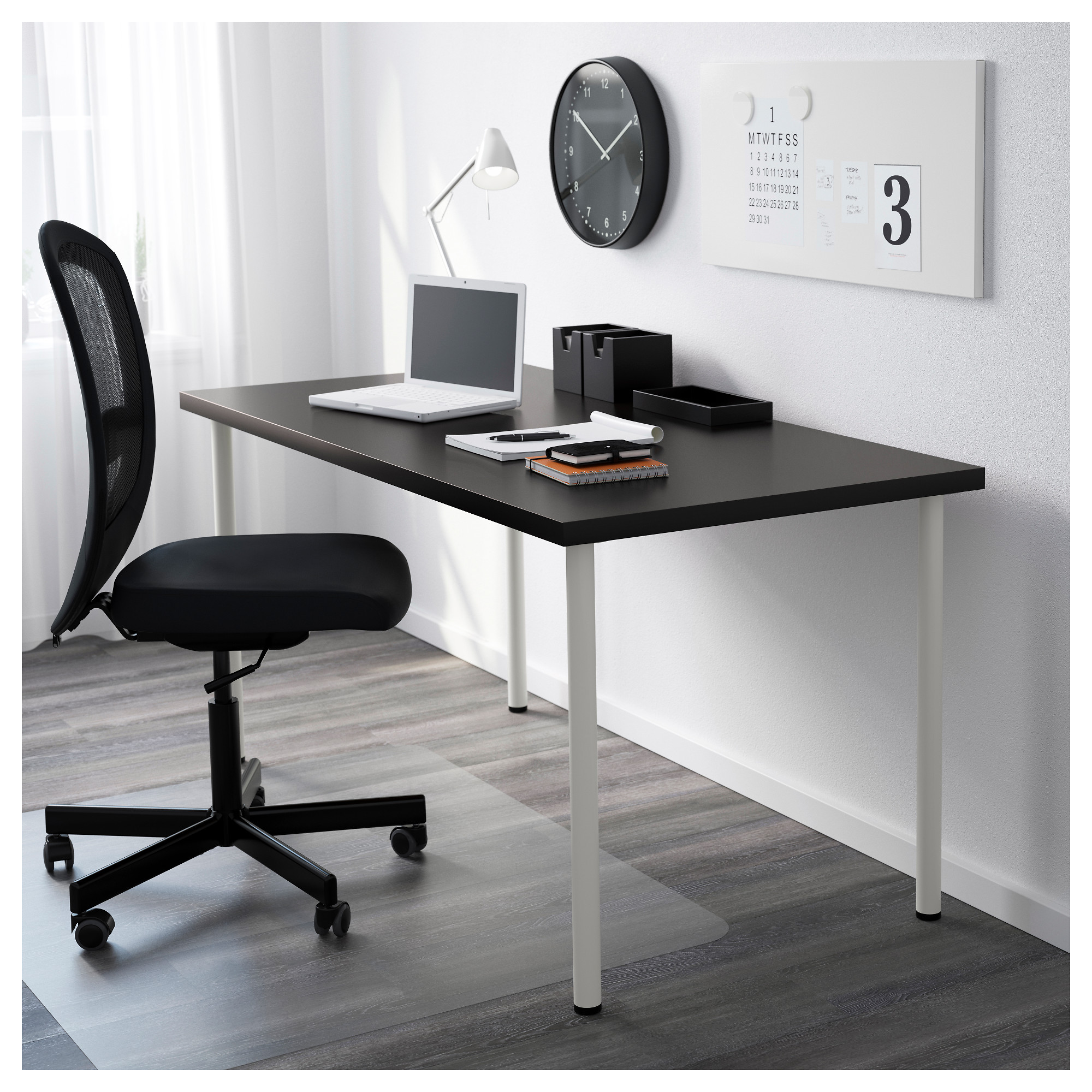 adils desks linnmonadils linnmon black brown desk en and ikea home grey catalog cm tables office