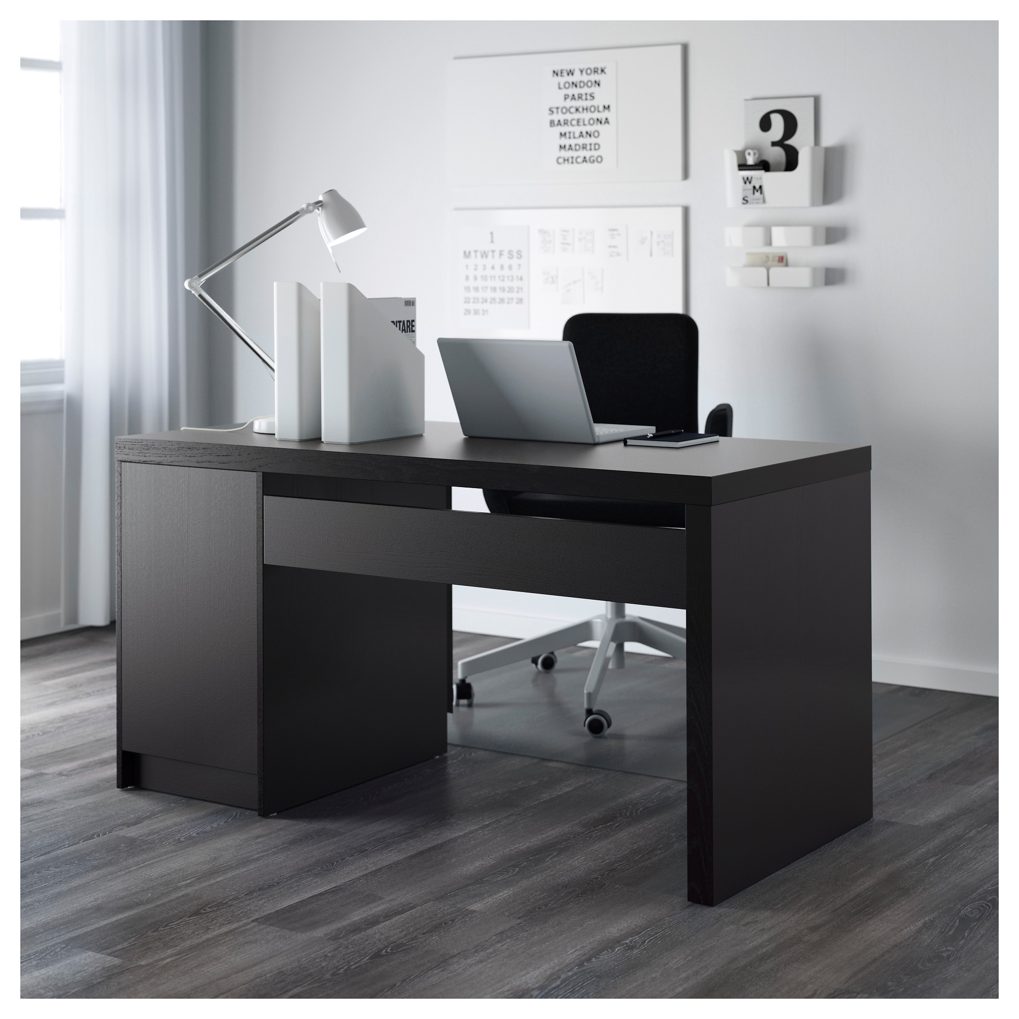 Ikea study table black - Ikea Study Table Black 5