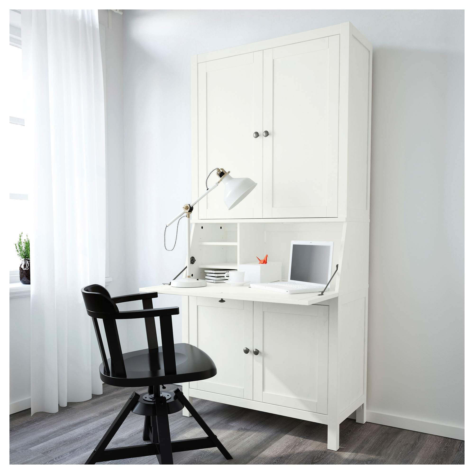 hemnes secretary desk hostgarcia. Black Bedroom Furniture Sets. Home Design Ideas