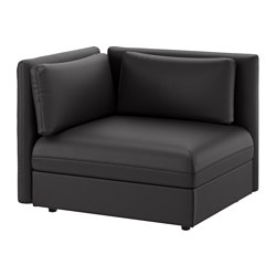 VALLENTUNA sectional 1-seat Murum black Width 44 1/2    sc 1 st  Ikea : couch sectional - Sectionals, Sofas & Couches