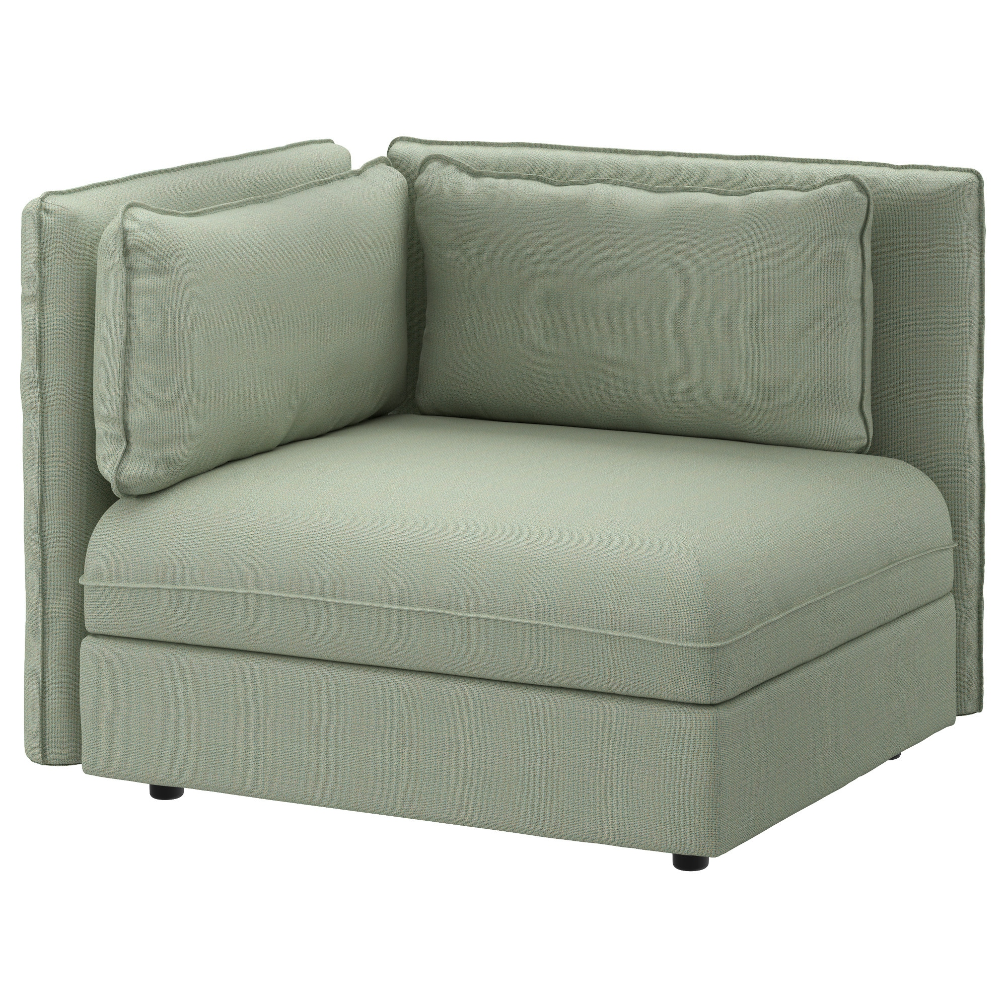 VALLENTUNA Sectional, 1 Seat, Hillared Green