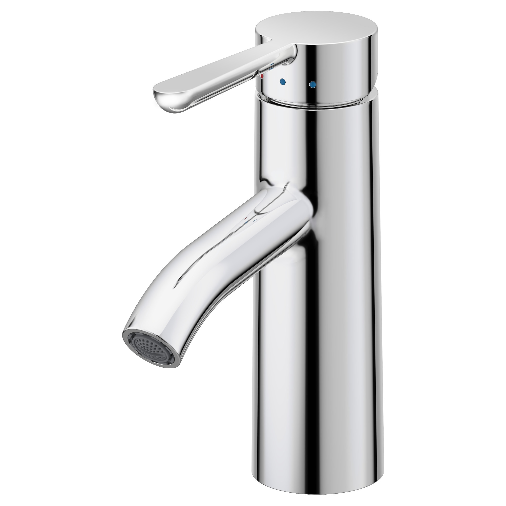 bathroom facuets dalskar bath faucet with strainer chrome plated height    quot height