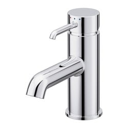 DANNSKÄR wash-basin mixer tap with strainer, chrome-plated Height: 15 cm